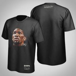76ers Joel Embiid & 21 Real Big Gesicht Hartholz-Klassiker T-Shirt Schwarz
