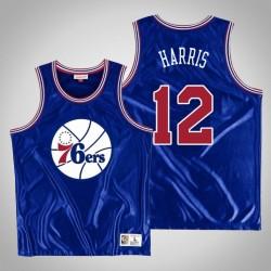 Männer Philadelphia 76ers Tobias Harris & 12 Blue Dazzle Jersey