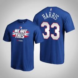 Philadelphia 76ers Tobias Harris & 33 2019 NBA Playoffs Bound All You Got königliche T-Shirt