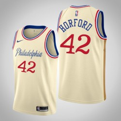 2019-20 76ers Al Horford & 42 Creme City Jersey