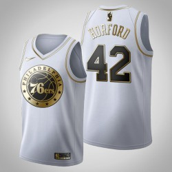 Philadelphia 76ers Al Horford & 42 Golden Edition Weiß Jersey