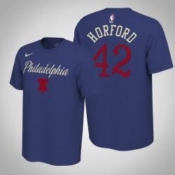 Philadelphia 76ers & 42 Al Horford verdient Königs 2020 Saison Name & Nummer T-Shirt