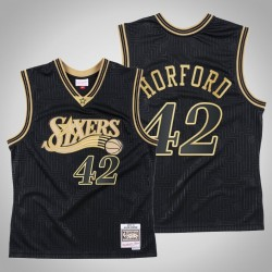 Philadelphia 76ers Al Horford & 42 Schwarz 2020 CNY Swingman Mitchell & Ness Throwback Jersey