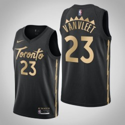2019-20 Raptors Fred Vanvleet & 23 Black City Jersey
