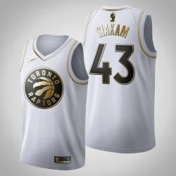 Toronto Raptors Pascal Siakam & 43 Golden Edition Weiß Jersey