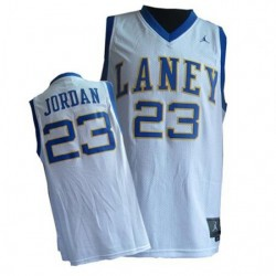 Michael Jordan Emsley A. Laney High School # 23 Weiß Trikot