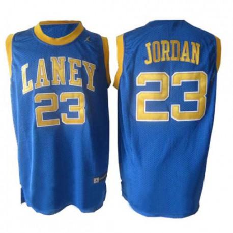 Michael Jordan Emsley A. Laney High School & 23 Blue Jersey