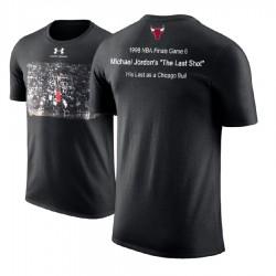 Herren Michael Jordan Chicago Bulls Lagerstapelbox Aufnahme 1998 NBA Finals T-Shirt
