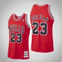 Herren Bulls Michael Jordan # 23 Red 1997-1998 Holz Classics authentisches Trikot