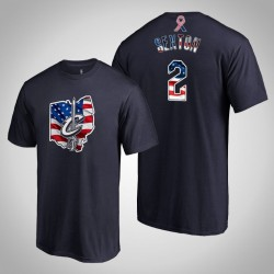 Cleveland Cavaliers Collin Sexton & 2 2019 Memorial Day Banner Staat-Marine-T-Shirt