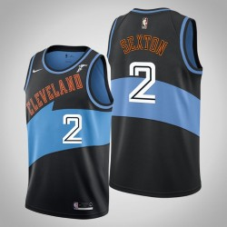 Cavaliers 2019-20 Collin Sexton & 2 Black Throwback Jersey