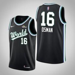 2019 NBA Rising Star Herren Team USA Cedi Osman & 16 Black Swingman Jersey