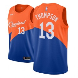 Jugend NBA 2018-19 Tristan Thompson Cleveland Cavaliers und 13 Ort Edition Blue Jersey