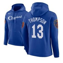 Männer Tristan Thompson Cleveland Cavaliers und 13 Blue 2018 Stadt Ausgabe Hoodie
