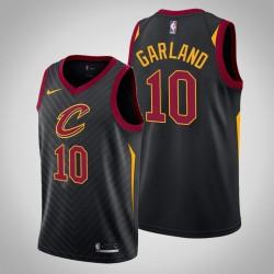 Männer Cleveland Cavaliers Darius Garland & 10 Black Swingman 2019-20 Jersey - Statement Ausgabe
