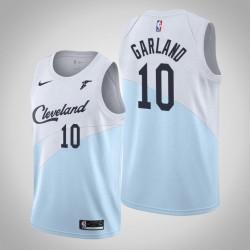 Männer Cleveland Cavaliers Darius Garland & 10 Blue Swingman 2019-20 Jersey - verdient Ausgabe