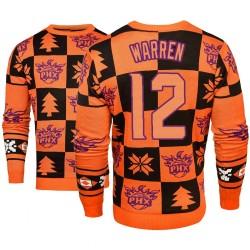 Männer T. J. Warren Phoenix Suns und 12 orange 2018 Weihnachten Sweater