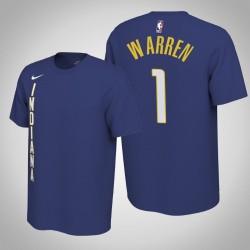 Indiana Pacers & 1 T. J. Warren verdient Königs 2020 Saison Name & Nummer T-Shirt