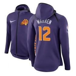 Männer T. J. Warren Phoenix Suns und 12 Lila Therma Flex Showtime Hoodie