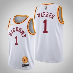 2019-20 Pacers T. J. Warren & 1 Weiß Jersey - Classic Edition