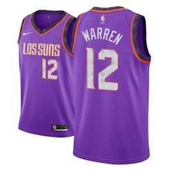 Jugend NBA 2018-19 T. J. Warren Phoenix Suns & 12 Stadt Ausgabe purpurrotes Jersey
