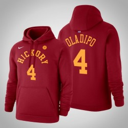 Indiana Pacers & 4 Victor Oladipo Holz Classics Red 2020 Saison PulloverHoodie