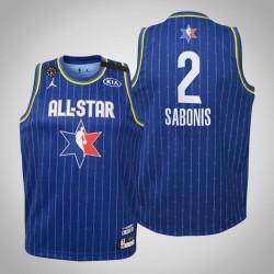 Jugendteam LeBron Domantas Sabonis & 2 Pacers Blau 2020 NBA All-Star Game Jersey