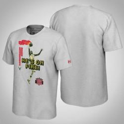 Bucks Giannis Antetokounmpo & 34 NBA Jam-Grau-T-Shirt