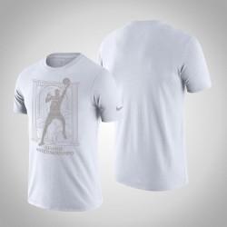 Milwaukee Bucks Giannis Antetokounmpo & 34 Weiß MVP Kurzarm T-Shirt