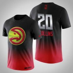 Männer Atlanta Hawks John Collins & 20 Mitternachts Mascot-Rot-T-Shirt