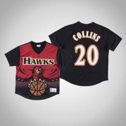 Atlanta Hawks John Collins & 20 Red Spiel gewinnen Schuss T-Shirt