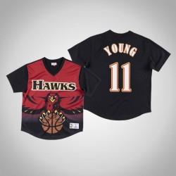 Atlanta Hawks Trae Young & 11 Red Spiel gewinnen Schuss T-Shirt