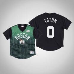 Boston Celtics Jayson Tatum & 0 Green Spiel gewinnen Schuss T-Shirt