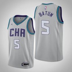 2019-20 Hornets Nicolas Batum & 5 Grau City Jersey