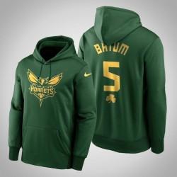 Nicolas Batum Hornets & 5 Green St. Patrick Day Golden Begrenzte PulloverHoodie