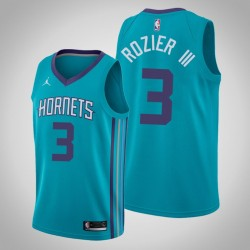 Männer Charlotte Hornets Terry Rozier III & 3 Teal Icon Jersey