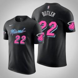 Männer Jimmy Butler Miami Heat # 22 Ort Schwarz Name # Nummer T-Shirt