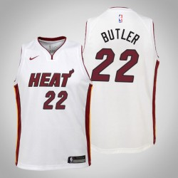 Jugend Jimmy Butler Miami Heat # 22 Verband Weiß Trikot