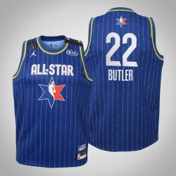 Jugend Miami Heat Jimmy Butler # 22 Blue 2020 NBA All-Star Game Trikot
