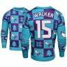 Männer Kemba Walker Charlotte Hornets & 15 Teal 2018 Weihnachten Sweater