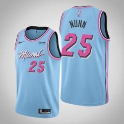 Männer Miami Heat Kendrick Nunn & 25 Blau ViceWave Jersey - Stadt