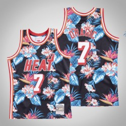 Goran Dragic Miami Heat # 7 Blumenmode-Trikot