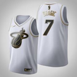 Miami Heat Goran Dragic & 7 Golden Edition Weiß Jersey