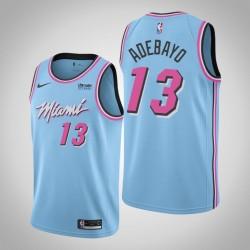 Männer Miami Heat Bam Adebayo # 13 Blue ViceWave Trikot - Stadt