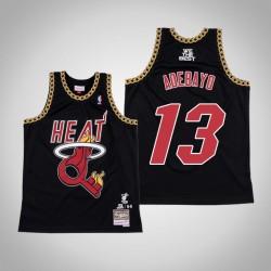 Bam Adebayo # 13 Black DJ Khaled x Miami Heat Swingman Mitchell Ness Limited Trikot