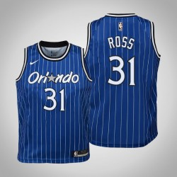 Jugend 2018-19 Terrence Ross Orlando Magic & 31 Holz Classics Edition Blue Jersey
