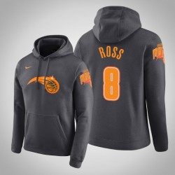 Orlando Magic & 8 Terrence Ross Stadt Anthrazit 2020 Saison PulloverHoodie