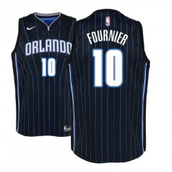 Jugend 2017-18 Saison Evan Fournier Orlando Magic & 10 Statement Schwarz Swingman Jersey