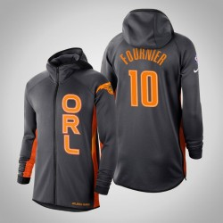 Männer Magic Evan Fournier & 10 verdient Anthrazit 2020 Saison Showtime Hoodie