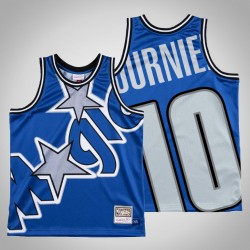 Männer Magic Evan Fournier & 10 Königs Big Gesicht Swingman Mitchell & Ness HWC Jersey